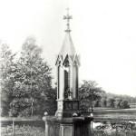 Historische foto fontein