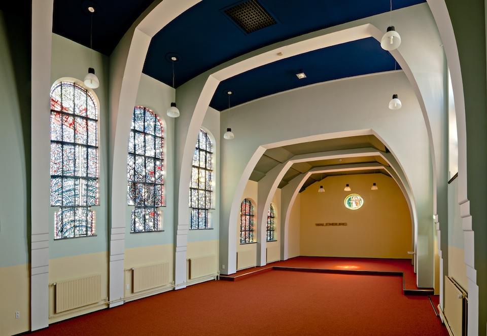 Interieur kapel Klooster St Catharina Walenburgerweg