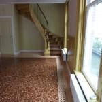 Herengracht voetjesvloer marmer restauratie renovatie interieur Walraad architecten
