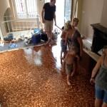 Herengracht voetjesvloer marmer interieur restauratie renovatie Walraad architecten