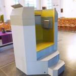 Grote Kerk Vlaardingen preekstoel Walraad architecten ERM restauratie herbestemming multifunctioneel gebruik